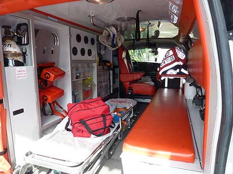 Ambulance binnenkant