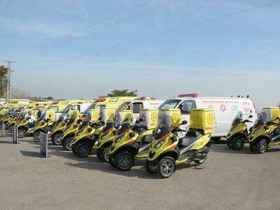 Ambulances & Scooters
