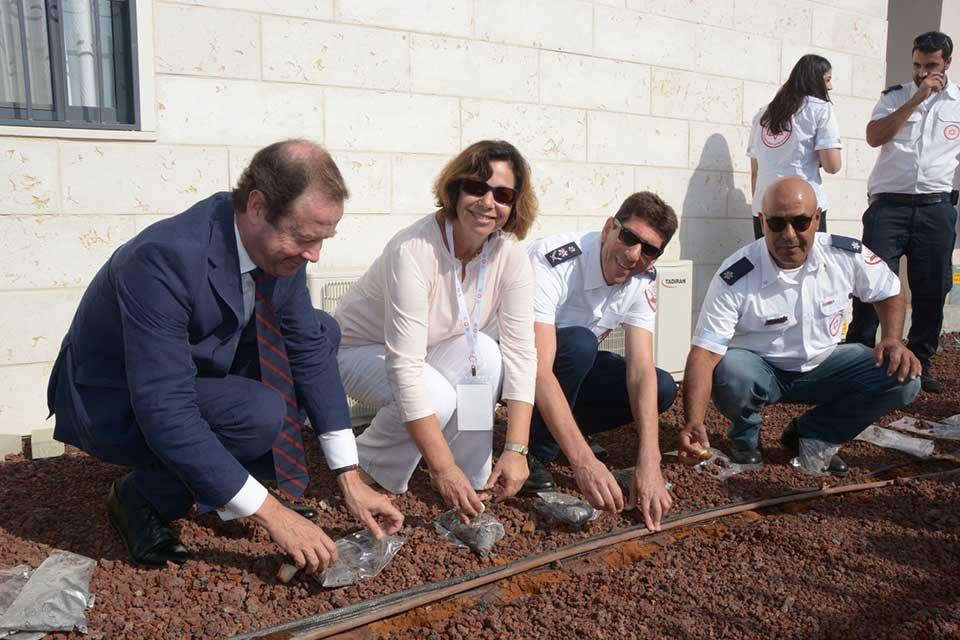 MDA Nederland doneert ambulancestation aan Israëlisch-Arabische stad Baka al-Gharbiya