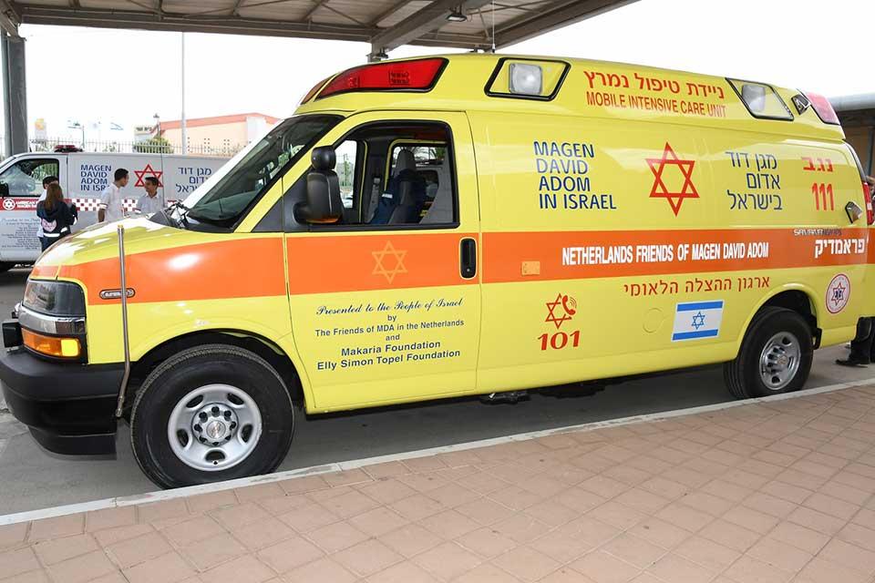 MDA Nederland schenkt geavanceerde ambulance